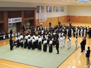 武道祭開会式写真